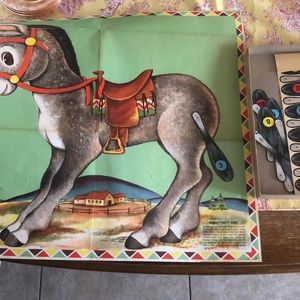 Vintage Other - Vintage Wittman donkey party with tails 1950s